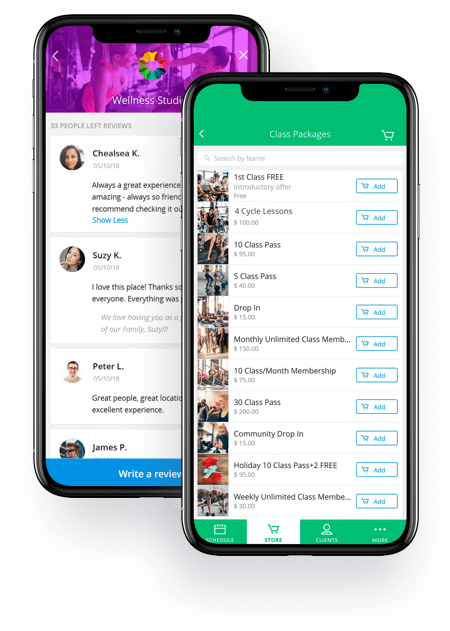 Achieve client app helps increase sales and retention at your studio, gym, spa or dojo. Elevate Staff App helps with point of sale, scheduling and client management.