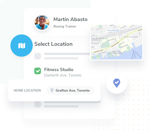 Set specific location settings for your team members